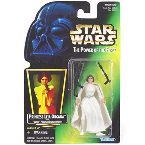 Princess Leia Organa with Laser Pistol Red Card