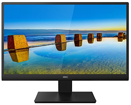 HKC 2476A 236 inch LED Monitor greatest HD 1080p 2ms Response constructed In audio system DVI Monitors