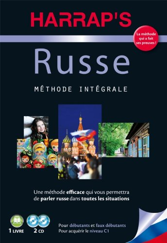 Harrap's méthode intégrale Russe - 2 CD + livre par Collectif