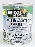 SAICOS Haus und Garten-Farbe 2405 Flieder deckend, 0,75 Liter