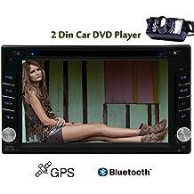 Trasmettitore FM HD telecamera per la retromarcia Doulbe Din stereo