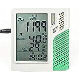Medidor / Controlador de Humedad / Temperatura / CO2 (VDL)