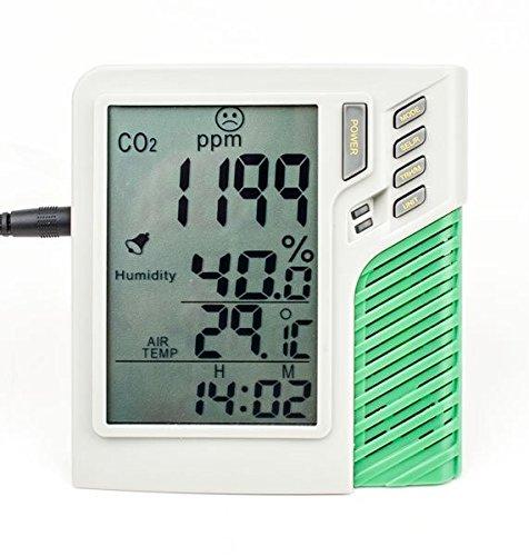 Messgerät zur CO2 / Feuchtigkeits,- und Temperaturkontrolle (VDL)