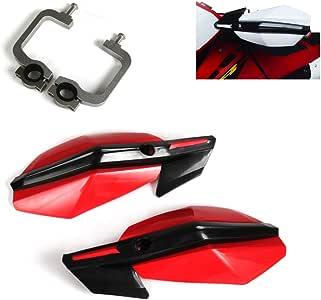 rosso da 22 a 28 mm Paramani per manubrio da motocicletta per HONDA CRF250 CRF450 CR250 CR125 CRF230 XR250 CR50 moto da cross Un Xin