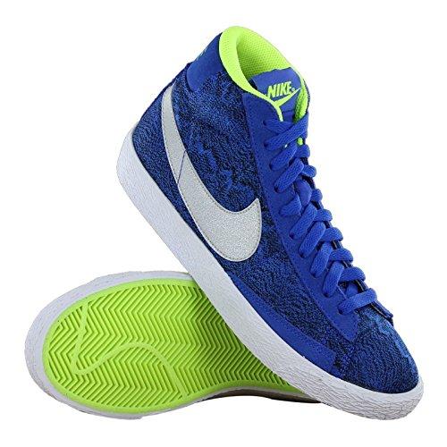 Nike Blazer Mid Vintage (Gs), Sneakers Hautes mixte enfant Bleu