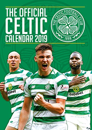 Celtic FC Official 2019 Calendar - A3 Wall Calendar