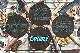 GRUBly Tischläufer Tischband Gold Ornament Hochzeit, Luxus AIRLAID, 30cm x 20m | Tischdekoration für Hochzeit, Geburtstag, Weihnachten, Party - 6