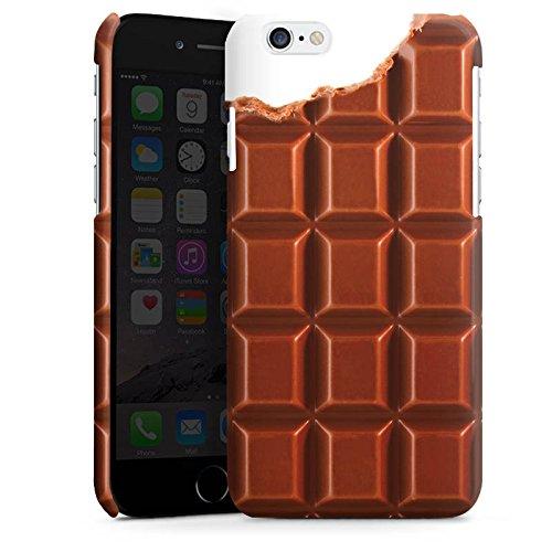 Apple iPhone 5s Housse Étui Protection Coque Chocolat Chocolat Choco Cas Premium brillant