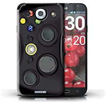 iChoose® Hard Back Funda Case para LG G Pro/mando de consola