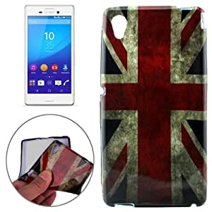 Crazy4Gadget UK Flag Pattern TPU Protective Case for Sony Xperia M4 Aqua
