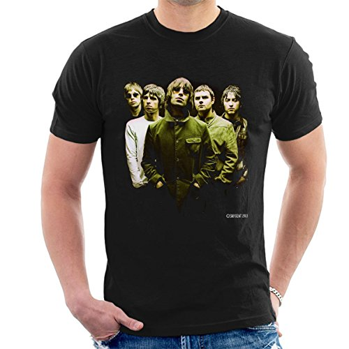Oasis Band Official Photo Men's T-Shirt, S to XXL