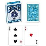 Mazzo di carte Bicycle - Formato poker - Turchese - Mazzi Speciali e Truccati - Giochi di Prestigio e Magia