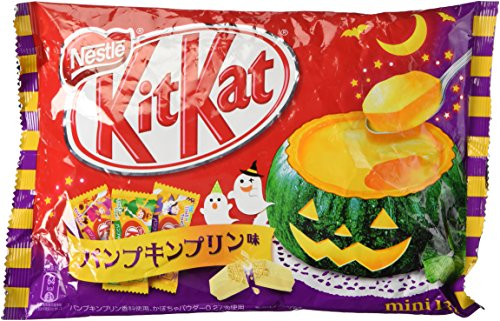 Nestle Japanese Kit Kat Pumpukin Pudding Flavor (13 bar)