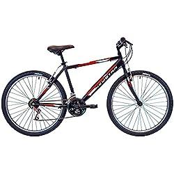 """New Star 80AR002 - Bicicleta BTT moderna 26"""" Negro para hombre"""