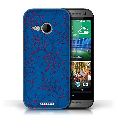 printed-hard-back-case-for-htc-one-1-mini-2-wheat-floral-pattern-collection-blue-pink