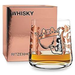 RITZENHOFF Next Whisky Whiskyglas von Medusa Dollmaker, aus Kristallglas, 250 ml