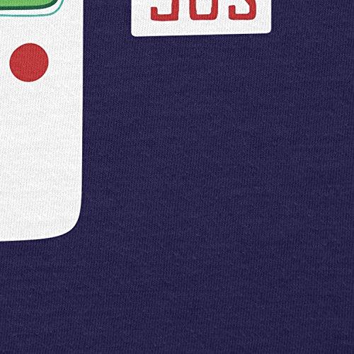 NERDO Cool in The 90s - Herren T-Shirt Navy