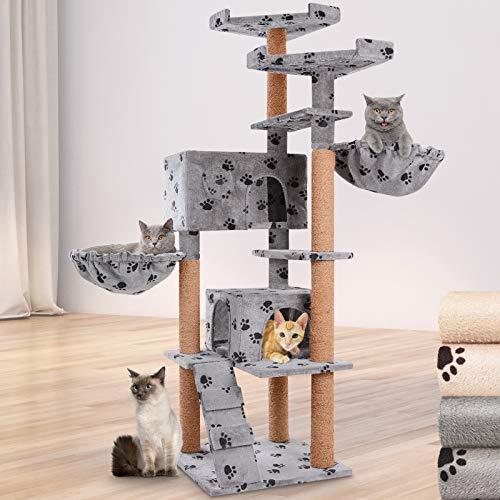Leopet/ /Rascador para Gatos /Árboles Gato Rascador /Árbol para Gatos Escalada algod/ón Gato Muebles 100/cm