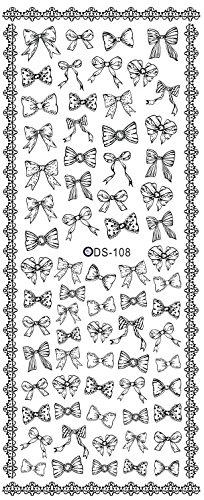 Autocollants de transfert à eau pour la décoration des ongles DS108 Nail Sticker Tattoo - FashionLife