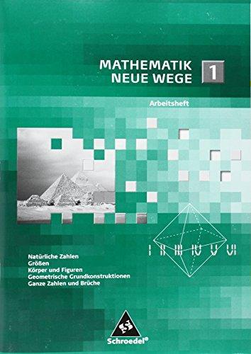Buchseite und Rezensionen zu 'Mathematik Neue Wege SI: Arbeitsheft 1' von Arno Lergenmüller