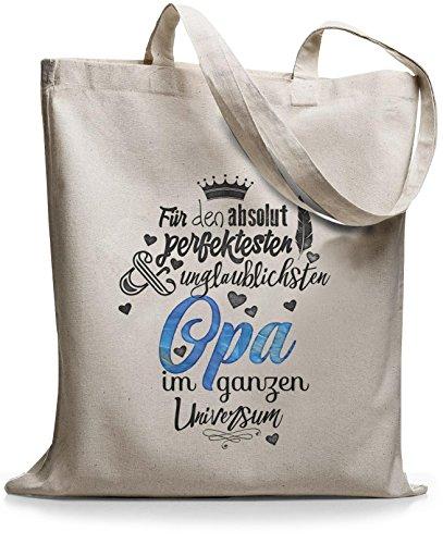 StyloBags Jutebeutel / Tasche Für den absolut perfektesten Opa Natur