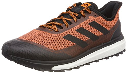 adidas Herren Response Trail Laufschuhe, Orange (Orange/Core Black/Carbon), 45 1/3 EU (Trail-running-schuh Response)