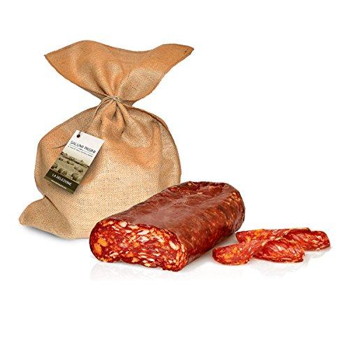 Spianata, ganzes Stück, typischer, scharfer kalabresische chili-Salami, 1.8 kg ca.