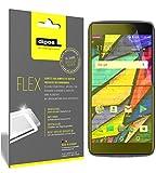 Alcatel Idol 5 Cricket Schutzfolie, 100% Displayabdeckung, 3x dipos Flex Displayschutzfolie