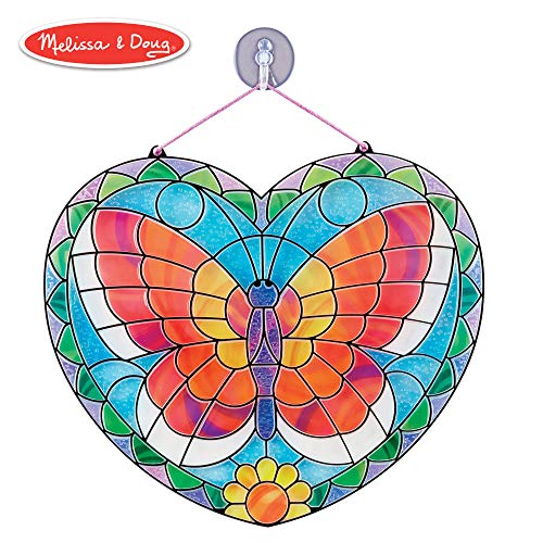 Melissa & Doug Stained Glass Made Easy - Butterfly by Melissa & Doug - Butterfly Stained Glass