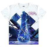 No Game No Life Shiro T-Shirt Kostüm Cosplay