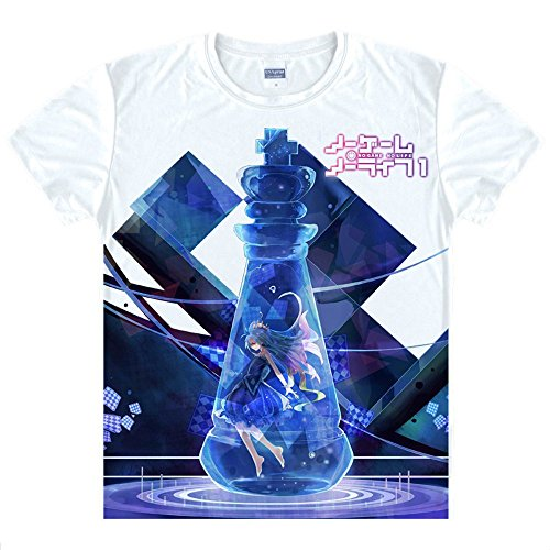 Game Cosplay Life Kostüm No No - No Game No Life Shiro T-Shirt Kostüm Cosplay