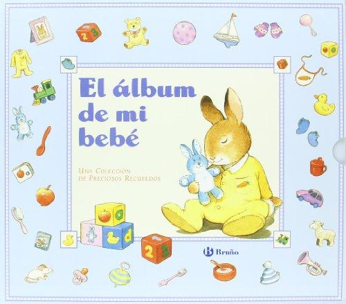 El álbum mi bebé azul Castellano - A Partir De 0