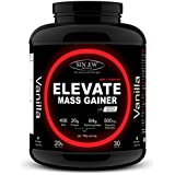 Sinew Nutrition Elevate Mass Gainer With Digestive Enzymes, 3 Kg (Vanilla Flavour)
