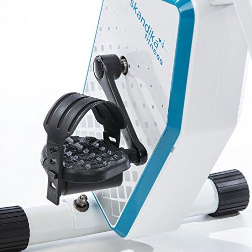skandika foldaway x 1000  skandika Foldaway X-1000 Plus Fitness Bike foldable with Bluetooth ...