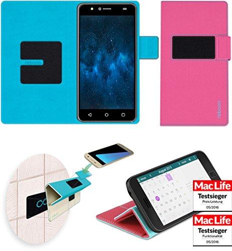 reboon Hülle für Panasonic P90 Tasche Cover Case Bumper   Pink   Testsieger