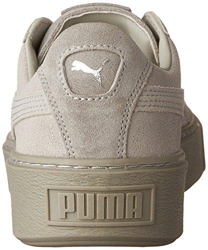 Puma - Puma Suede Platform Gold Gray Violet-gray Violet