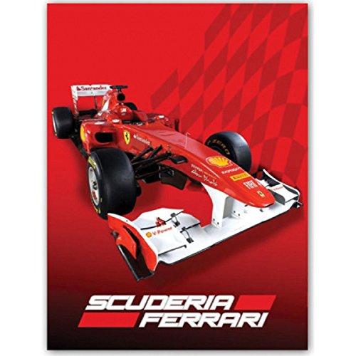 Ferrari F1, Coperta in pile, Rosso (Rot)