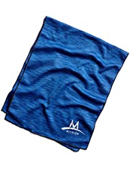 Mission Refroidissant pour serviette refroidissement Endura Cool techknit Cooling Towel Space Dye