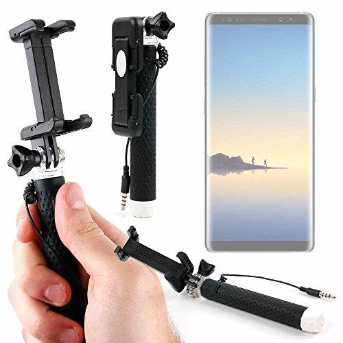 DURAGADGET Palo Selfie (Selfie-Stick) para Smartphone Samsung Galaxy Note 8