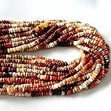 Lovekush, perline lisce in opale messicano naturale, di ottima qualità, dimensioni – 3 mm a 5 mm, filo da 33 cm [E2314]