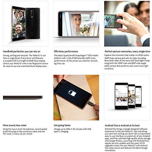 Nokia 6.1 Dual Sim 3/32 (2018) - Black