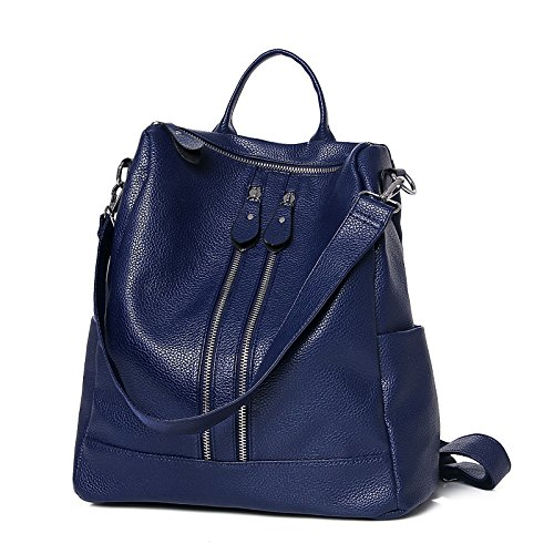 Mefly Estate Multifunctional Bag Spalle Spalla Croce Diagonale Moda Nero Personalità blue
