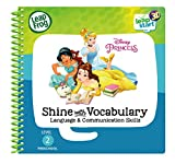 Leapstart Preschool: Disney Princess Shine with Vocabulary Activity Book (3D Enhanced)