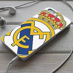 Funda del móvil fútbol caso REAL MADRID protectora carcasa de teléfono para iPhone X 8 8+ 7 7+ 6S 6 6S+ 6+ 5 5S 5SE 4S 4