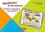 Perfekt organisiert in der Krippe: Signalkarten für die Kleinsten: Mit Bildern und Symbolen den Tag begleiten. 30 Bildkarten