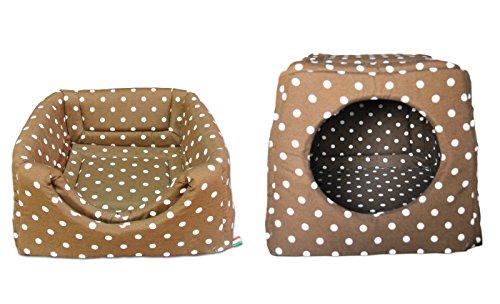 Baldiflex Materassino Cuccia Letto Cuscino da Interno Morbida per Cane e Gatto Romeo 42x42 cm