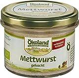 Ökoland Bio Mettwurst