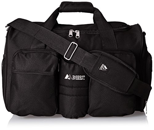 everest-gym-bag-with-wet-pocket-black-one-size