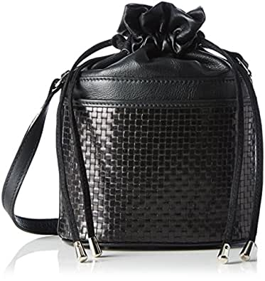 Mini Satchel Bag Loopnet, Womens Cross-Body Bag Kaviar Gauche