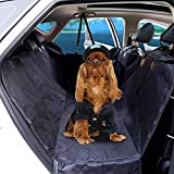 Dog Seat Cover for Car, Back Seat Covers for Dogs with 100% Waterproof, Pet Dog Seat Cover Premium Nonslip Backing Hammock for Scratch Proof with Side Flaps